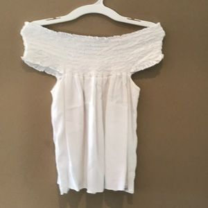 Brandy Melville beautiful off shoulder white top